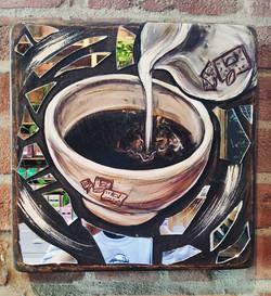 Mirrored art for your business #LPQ #santamoni