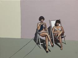 Knit and sunbath