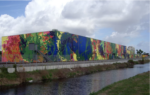 West Palm Beach Mural (sideview) 2006