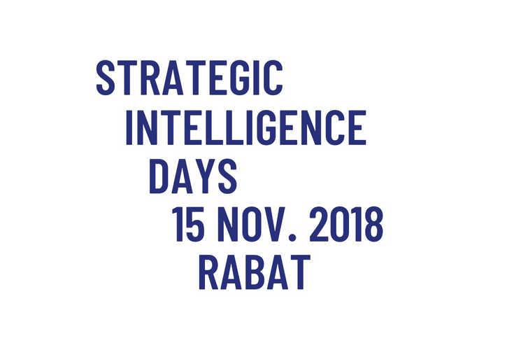 DELTA KNOWLEDGE GROUP STRATEGIC INTELLIGENCE DAYS THIBAULT CHANTEPERDRIX INTELLIGENCE ECONOMIQUE AFRIQUE MAROC