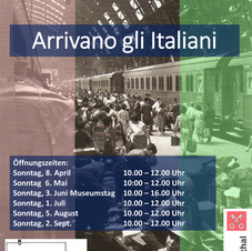 Arrivani gli Italiani