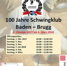100 Jahre Schwingklub Baden - Brugg