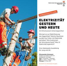 Elektrizität gestern und heute