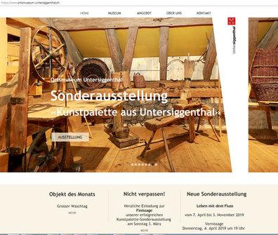ORTSMUSEUM-UNTERSIGGENTHAL.CH