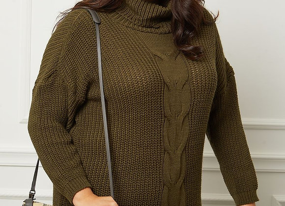 ROBE PULL MAILLE