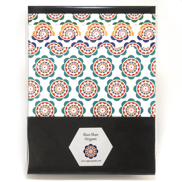 しゃんしゃん傘の折り紙 4色セット