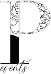 Second Logo P Black and White.png