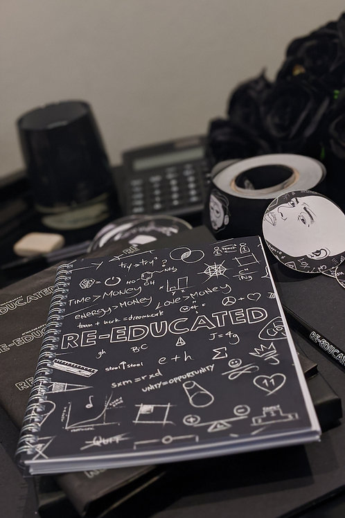 A5 Re-Educated Notepad