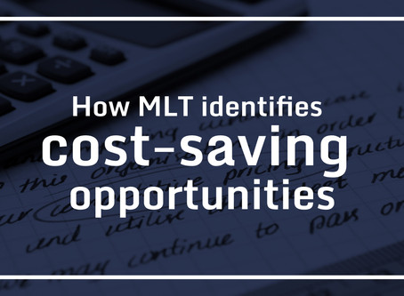 How MLT identifies cost-saving opportunities