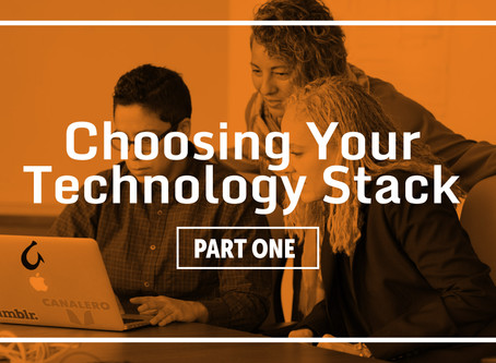 Choosing Your Technology Stack