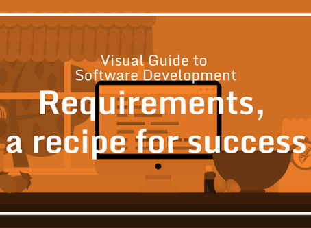 Visual Guide to Software Development – Requirements, a recipe for success.