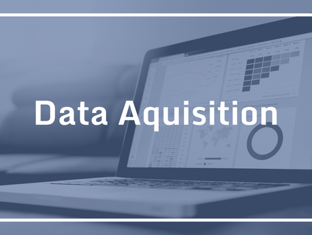 Data Acquisition… Yeah, what about it?