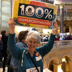 Rally for 100% Clean Energy