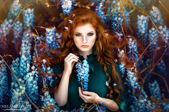 Photographer/Edit/Hair/Make up: Melanie Dietze Model: Kristina