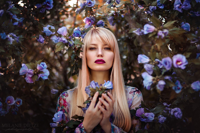 Photographer/Edit/Hair/Make up: Melanie Dietze Model: Judy