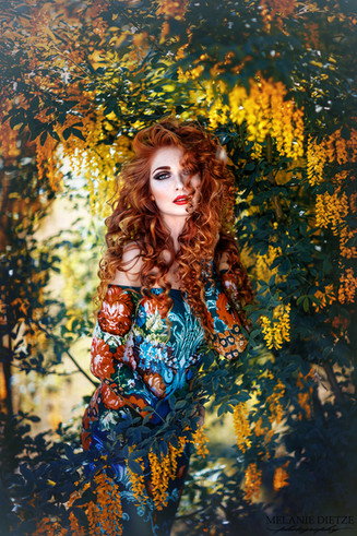 Photographer/Edit/Hair/Make up: Melanie Dietze Model: Theresa Dress: Lady CaroLynn