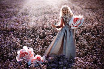 Photographer/Edit: Melanie Dietze Model/Hair/Make up: Jumeria Flowers: Marina Miller