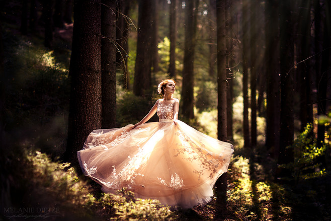 Photographer/Edit/Make up: Melanie Dietze Model: Lisa Dress: Myrelle Couture Hair: Kristina