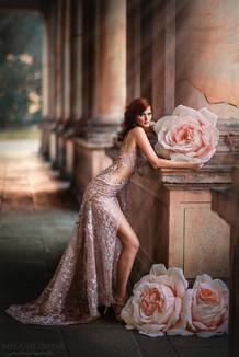 Photographer/Edit/Hair/Make up: Melanie Dietze Model: Tessa Dress: Jasmin Erbas