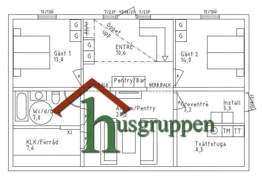 2-planshus 191 m²