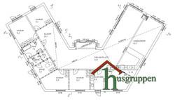 1,5-plan 278,5 m² (Loft)