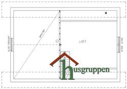 1,5-planshus 114 m² (Loft)