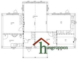 Enplanshus 85,5 m²