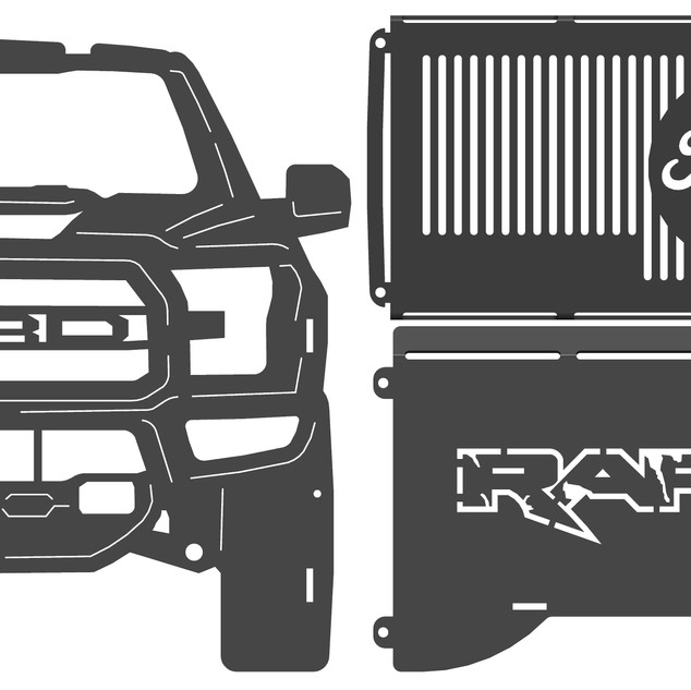 ford raptor fire pit parts.JPG