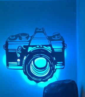 Backlit Camera