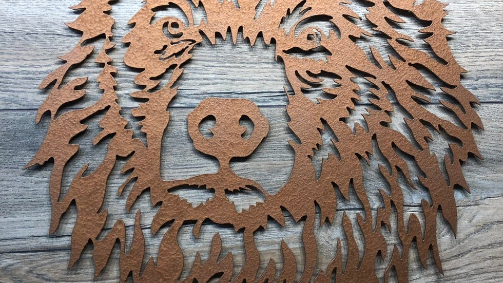 Kodiak Bear Metal art