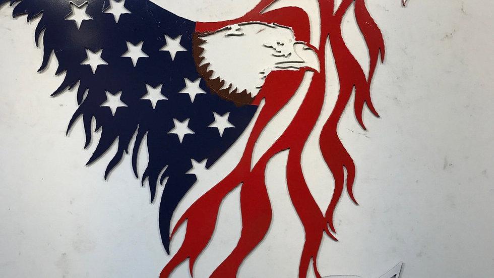In God We Trust Eagle/Flag