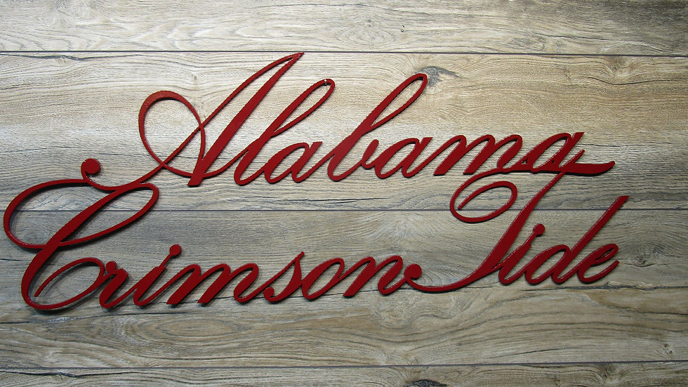 Alabama Crimson Tide Wall Art