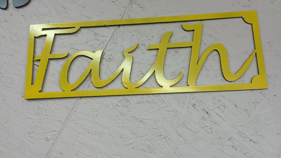 Faith 18.5 x 6.25