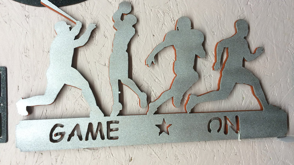 """Game On 19"""" x 10"""""""