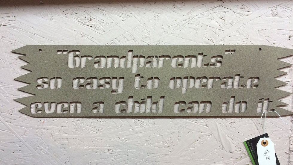 Grandparent Easy To Operate wall art