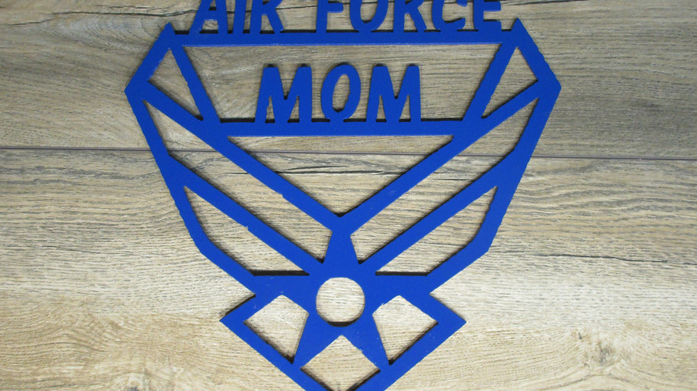 Air Force Mom wall art