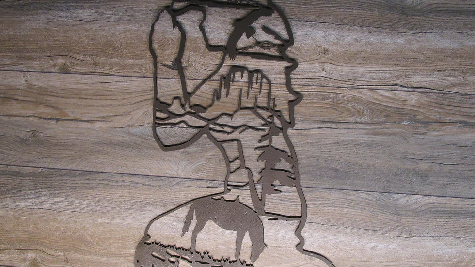 Cowgirl Prayer Wall Art