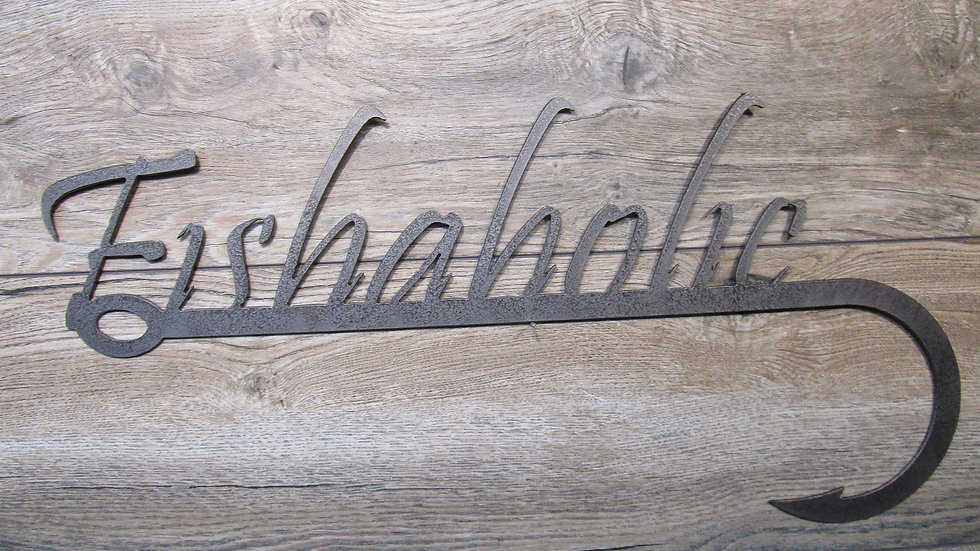 Fishaholic wall art