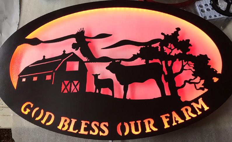 God Bless Our Farm