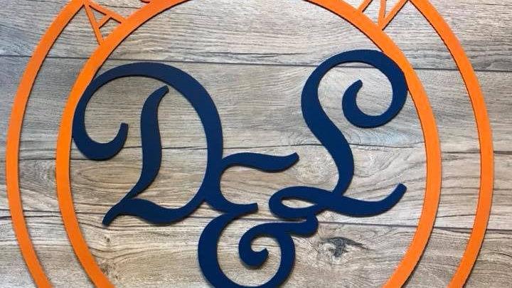 Custom Auburn door/wall art