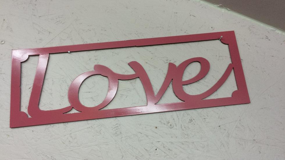 """Love 18.5: x 6.25"""""""