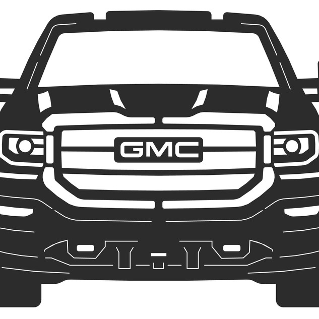 2018 gmc sierra front with tow mirrors 1