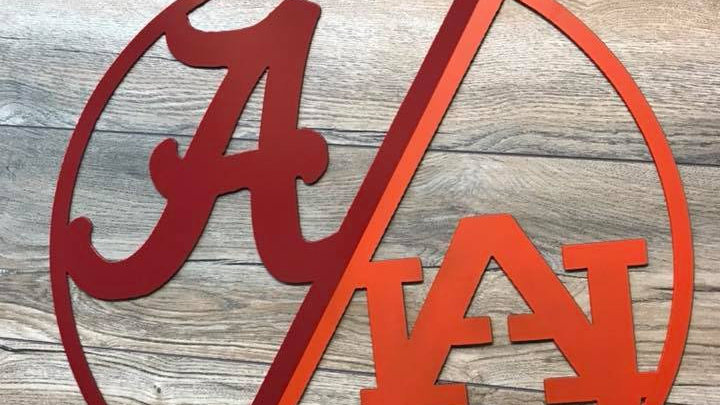 House divided Alabama Auburn