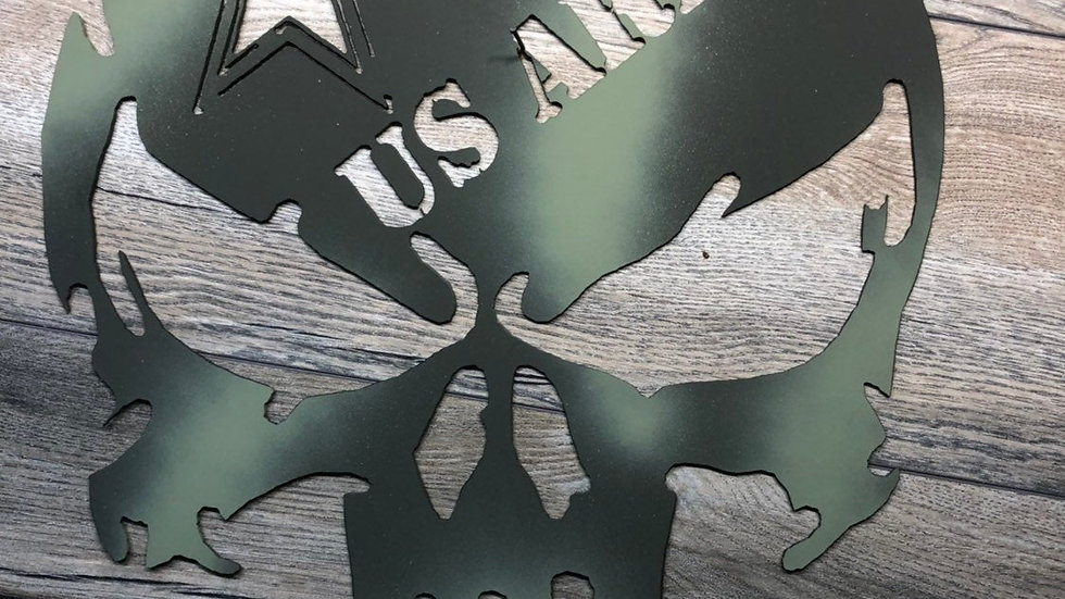 US Army Punisher Wall Art