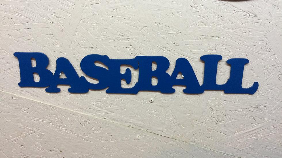 "Baseball 23"" x 5"""