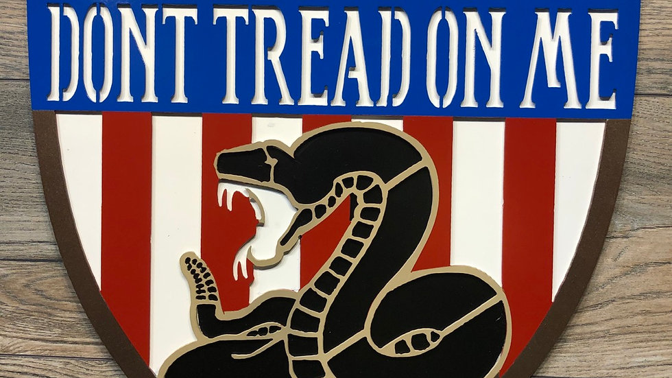 Don't Tread On Me wall art