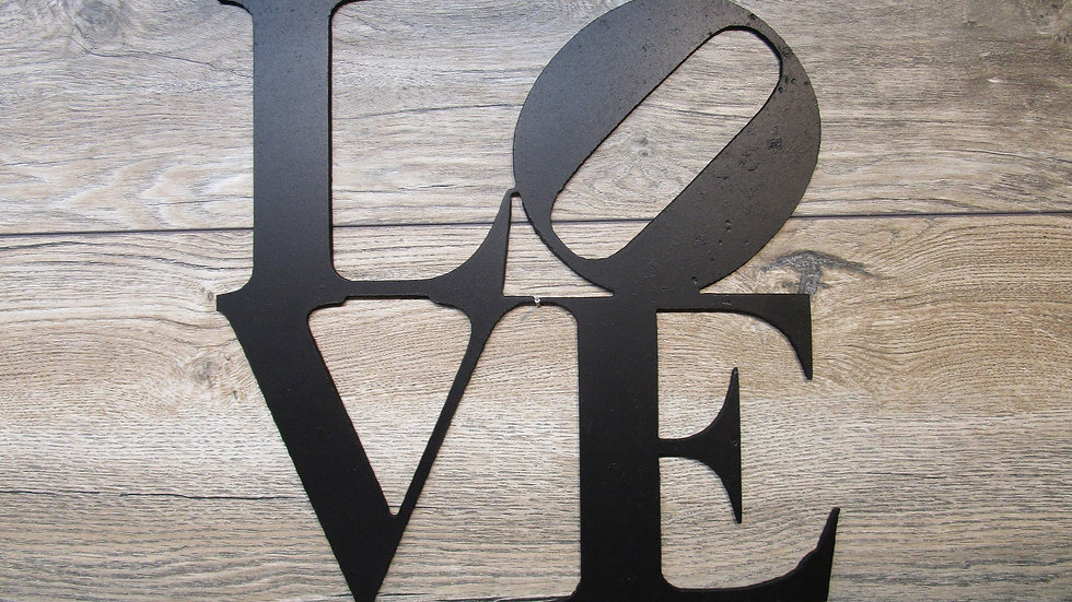 Square Love wall art