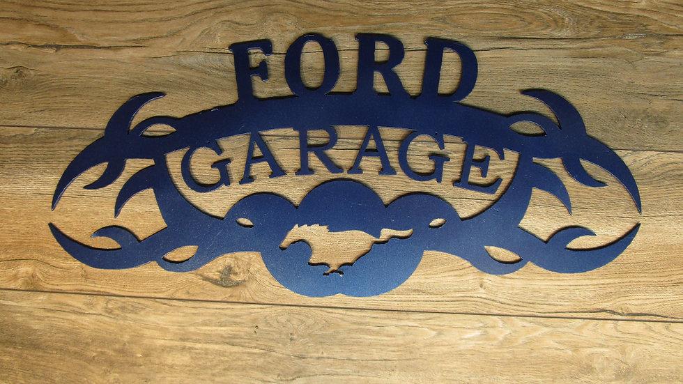 Ford Garage Wall Art