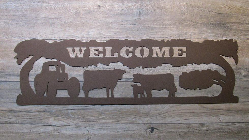 Farm Welcome Wall Art