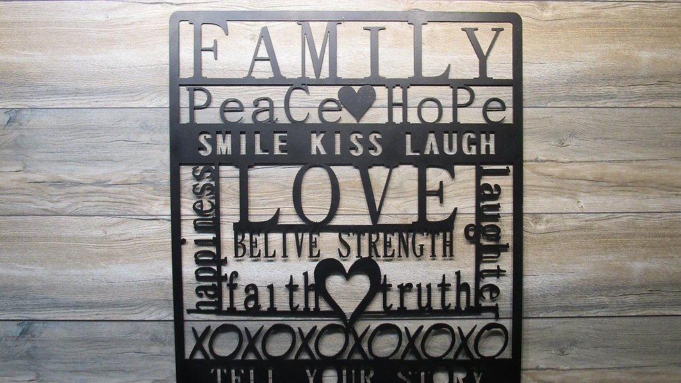 Family Love Art